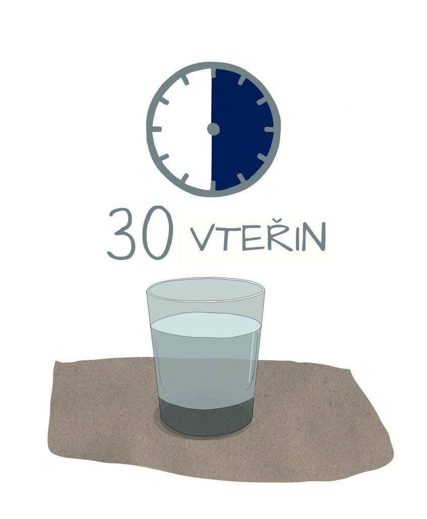 30 vteřin pohár